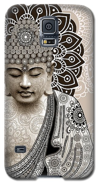 Meditation Mehndi - Paisley Buddha Artwork - Copyrighted Galaxy S5 Case