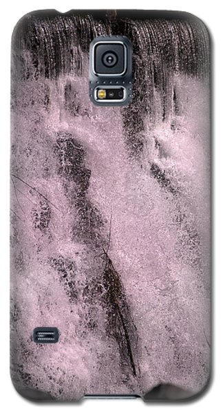Otter Galaxy S5 Case - Meditative Otter Lake Waterfall  by Betsy Knapp