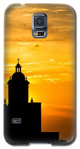 Meditative Sunset Galaxy S5 Case