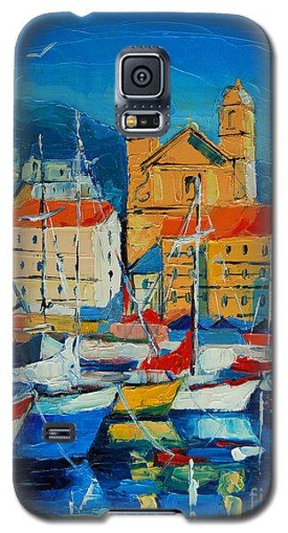 Mediterranean Harbor Galaxy S5 Case