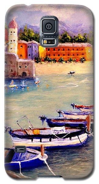 Mediterranean Harbour.. Galaxy S5 Case by Cristina Mihailescu