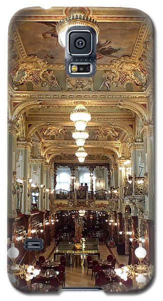 Meet Me For Coffee - New York Cafe - Budapest Galaxy S5 Case by Lucinda Walter