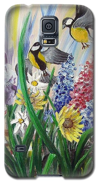 Meeting In The Garden Galaxy S5 Case