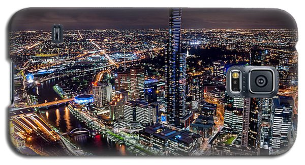 Melbourne At Night IIi Galaxy S5 Case
