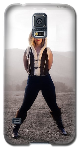 Galaxy S5 Case featuring the photograph Melissa Portrait 03 by Matt Hanson
