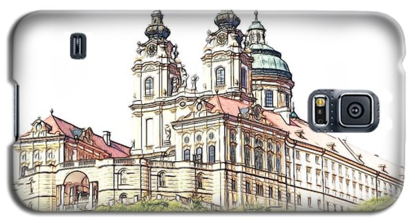 Melk Abbey In Lower Austria Galaxy S5 Case by Maciek Froncisz