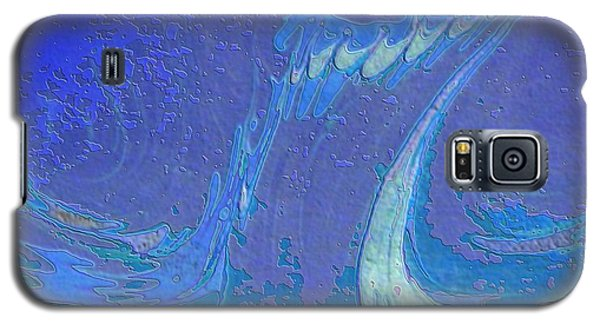 Galaxy S5 Case featuring the painting Melody by Mike Breau