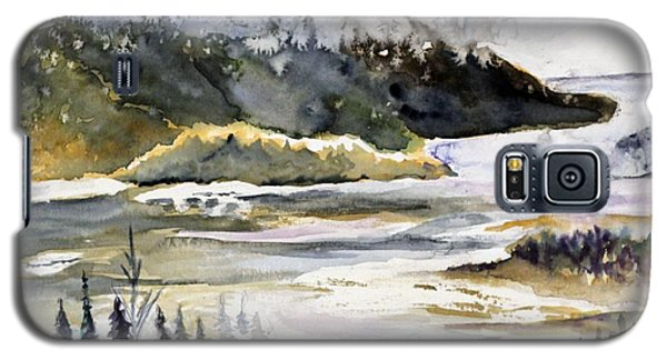 Melting Glacier Galaxy S5 Case