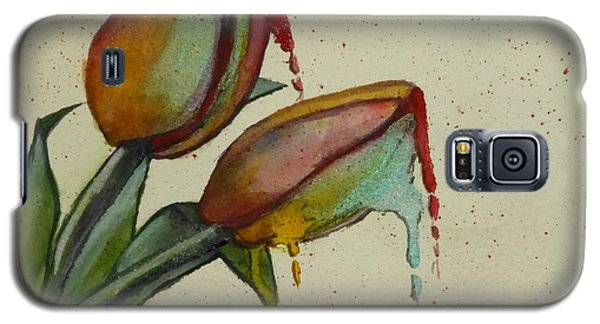 Melting Tulips Galaxy S5 Case