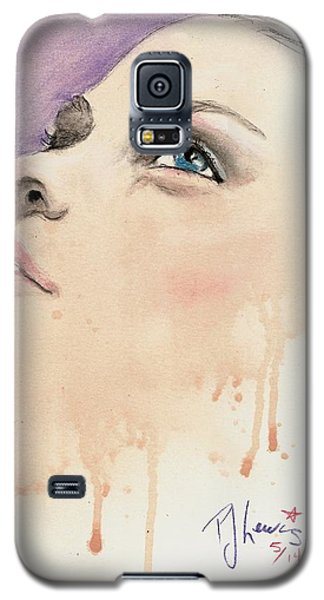 Melting Youthful Beauty Galaxy S5 Case by P J Lewis