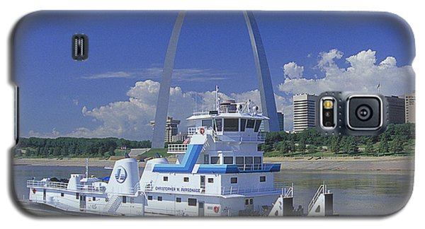 Memco Towboat In St Louis Galaxy S5 Case