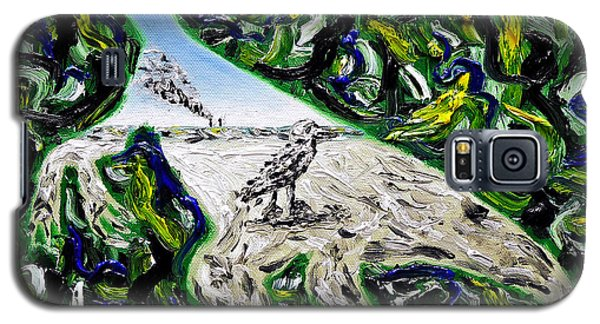 Galaxy S5 Case featuring the painting Memetic Process by Ryan Demaree
