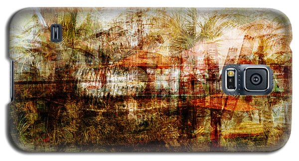 Galaxy S5 Case featuring the mixed media Memories #1 by Sandy MacGowan