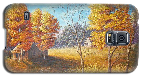 Galaxy S5 Case featuring the painting Memories by Loxi Sibley