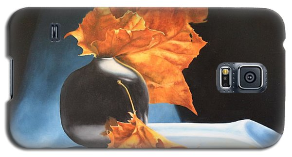 Memories Of Fall - Oil Painting Galaxy S5 Case