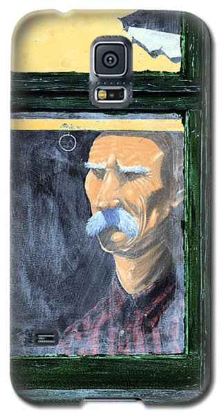 Galaxy S5 Case featuring the painting Memories Of Grandfather by Ron Haist