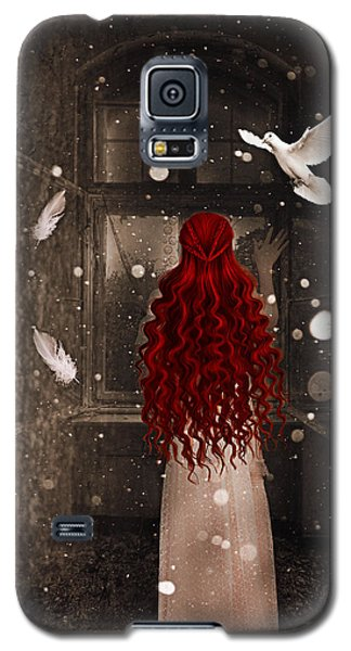 Galaxy S5 Case featuring the digital art Memories Of You by Riana Van Staden