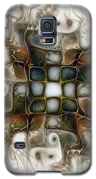 Memory Boxes-fractal Art Galaxy S5 Case