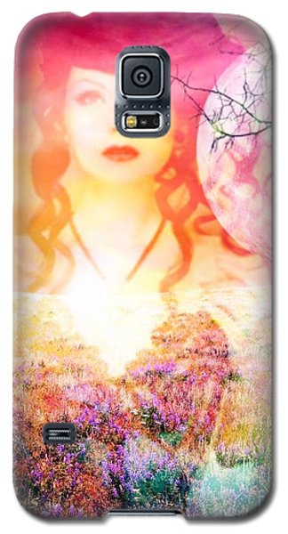 Galaxy S5 Case featuring the digital art Memory Of Her by Diana Riukas