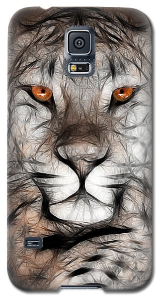 Memphis Leopard Artwork Galaxy S5 Case