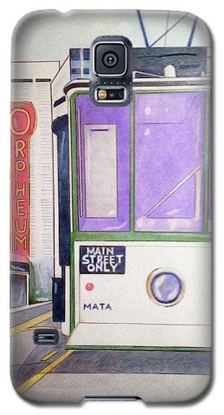 Memphis Trolley Galaxy S5 Case