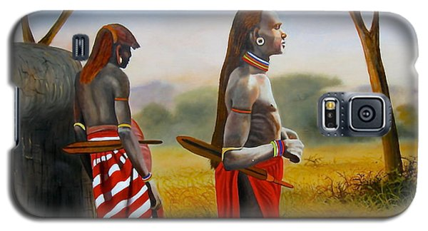 Men Of The Maasai Galaxy S5 Case
