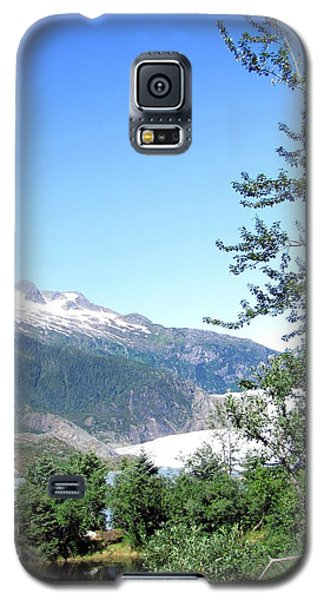 Galaxy S5 Case featuring the photograph Mendenhall Glacier by Jennifer Wheatley Wolf