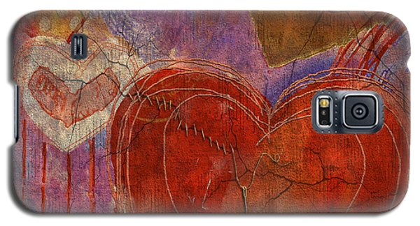 Galaxy S5 Case featuring the digital art Mending A Broken Heart by Arline Wagner
