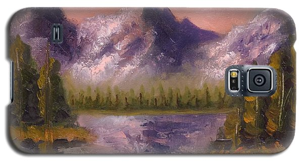 Galaxy S5 Case featuring the painting Mental Mountain by Jason Williamson