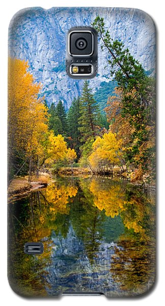 Merced River And Leaning Pine Galaxy S5 Case by Terry Garvin