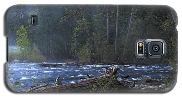 Galaxy S5 Case featuring the photograph Merced River by Duncan Selby