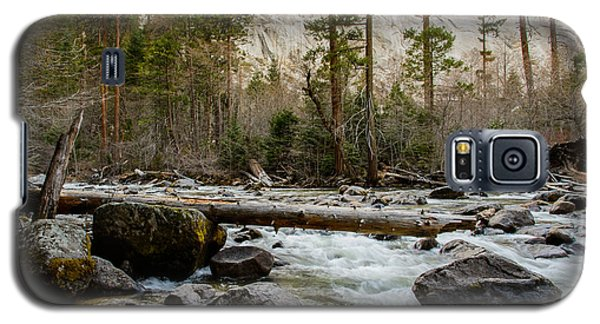 Merced River From Happy Isles 2 Galaxy S5 Case by Terry Garvin