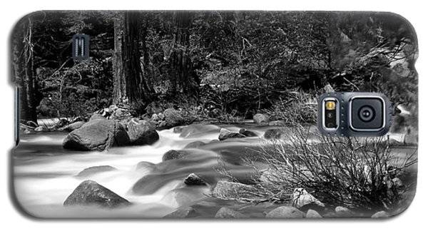 Galaxy S5 Case featuring the photograph Merced River by Jason Abando