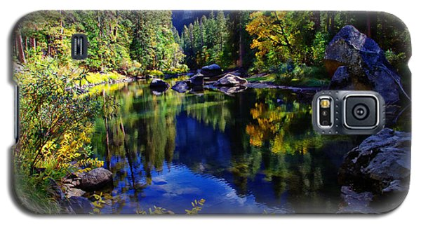 Merced River Yosemite National Park Galaxy S5 Case