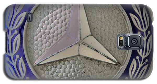 Mercedes Benz Badge Blue Galaxy S5 Case