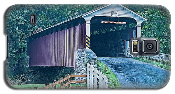 Mercer's Mill Covered Bridge Galaxy S5 Case