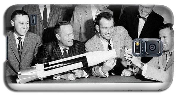 Mercury Seven Astronauts Galaxy S5 Case