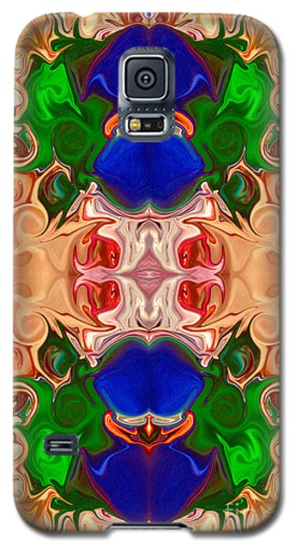Merging Consciousness With Abstract Artwork By Omaste Witkowski  Galaxy S5 Case