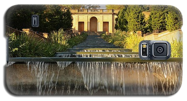Meridian Hill Park Waterfall Galaxy S5 Case by Stuart Litoff