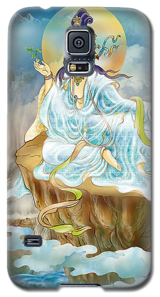Galaxy S5 Case featuring the photograph Merit King Kuan Yin by Lanjee Chee