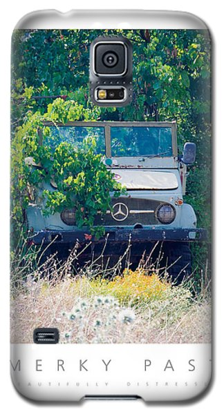 Merky Past Beautifully Distressed Poster Galaxy S5 Case by David Davies