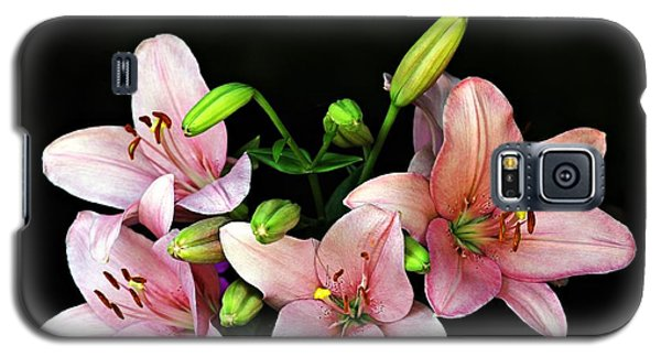 Merlot Lilies Galaxy S5 Case