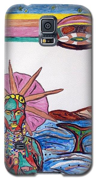 Yemoja Ufo  Galaxy S5 Case