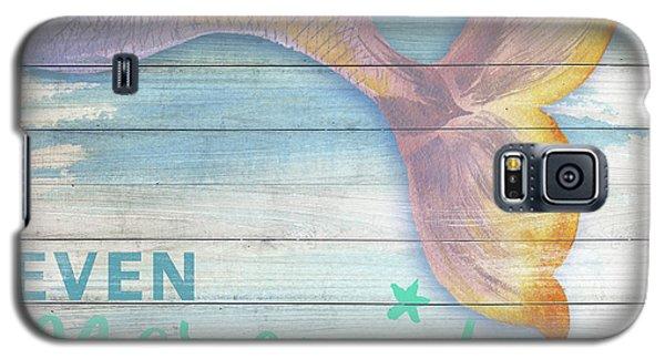 Mermaid Galaxy S5 Case - Mermaid Bath II by Elizabeth Medley