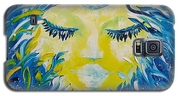Mermaid Face Portrait Galaxy S5 Case