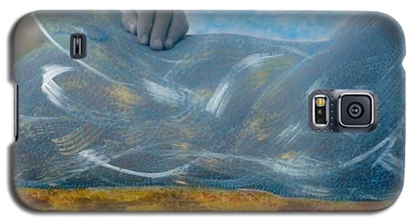 Galaxy S5 Case featuring the photograph Mermaid by Lesley Fletcher