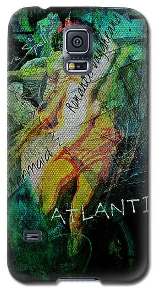 Mermaid Love Spell Galaxy S5 Case by Absinthe Art By Michelle LeAnn Scott