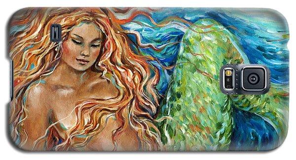 Mermaid Sleep New Galaxy S5 Case by Linda Olsen