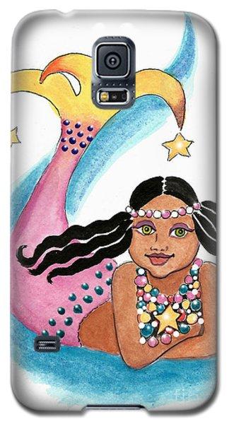 Mermaid Star Child Galaxy S5 Case