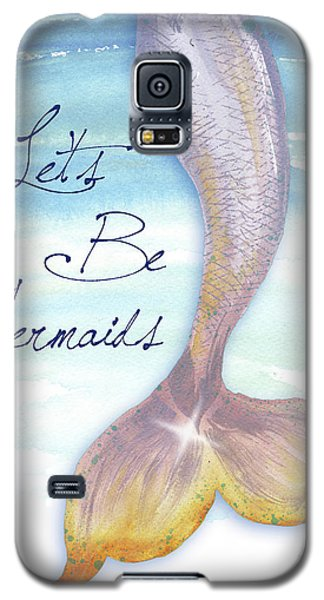 Mermaid Galaxy S5 Case - Mermaid Tail II by Elizabeth Medley